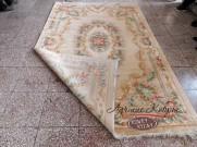 Китайский шерстяной ковер «Королевский» кремовый
