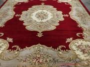 Китайский шерстяной ковер «Генерал» красный