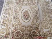 Китайский шерстяной ковер «Хосио» кремовый
